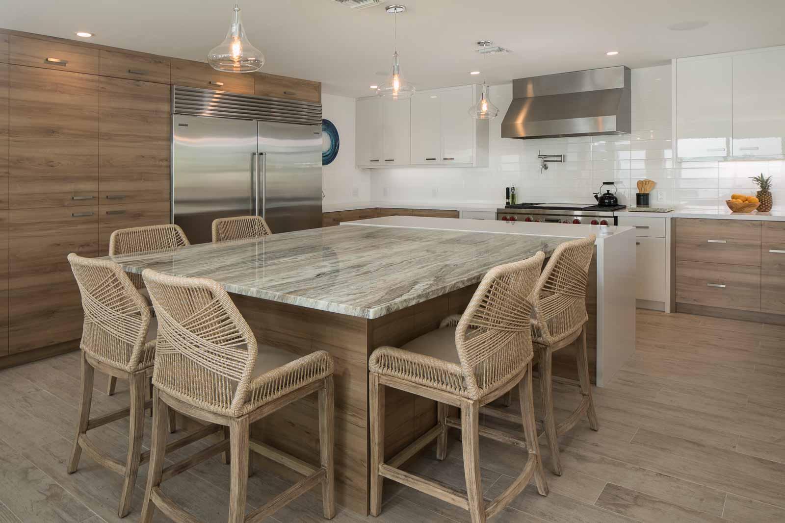 Fantasy Brown Kitchen 1, Primestones® Granite, Quartz, Marble