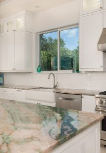 Jade Quartzite Kitchen Corner