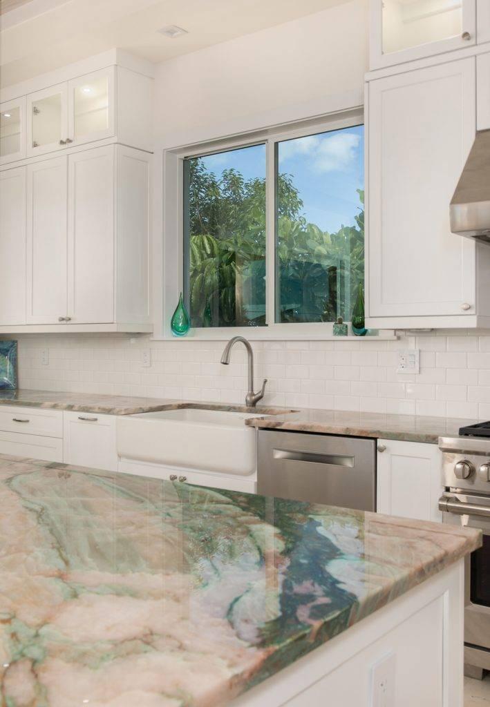 Quartzite Jade Kitchen Corner 709x1024, Primestones® Granite, Quartz, Marble