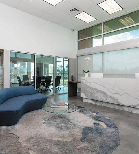Atrium Mobile, Primestones® Granite, Quartz, Marble