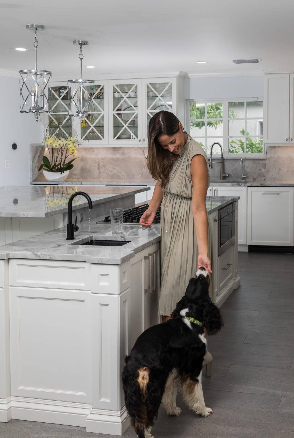 Super White Calacatta Dolomite Kitchen 7 1033x1536, Primestones® Granite, Quartz, Marble