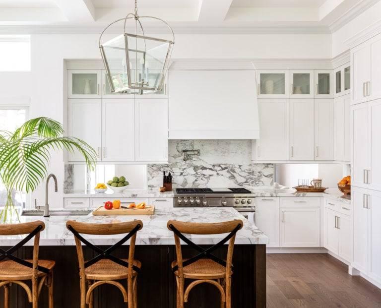 Calacatta Vagli Gold Kitchen 6 768x621, Primestones® Granite, Quartz, Marble