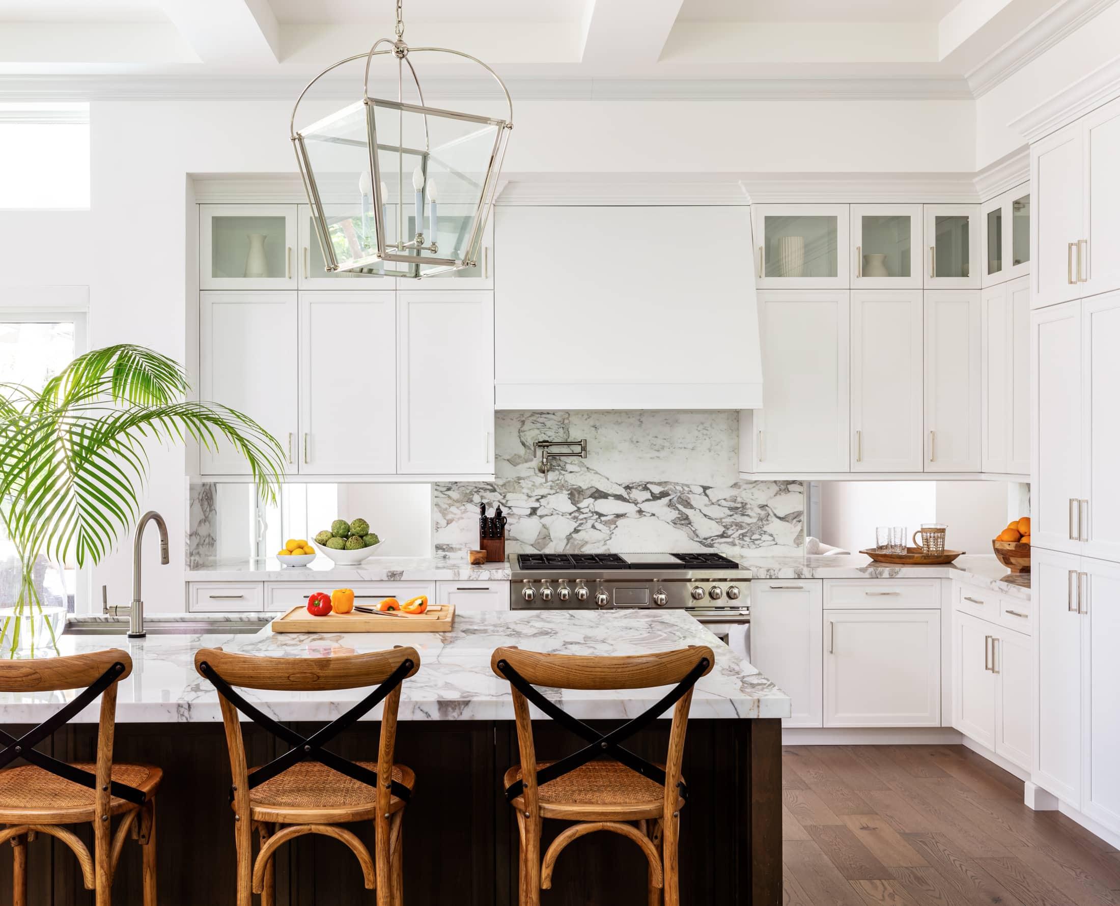 Calacatta Vagli Gold Kitchen 6, Primestones® Granite, Quartz, Marble