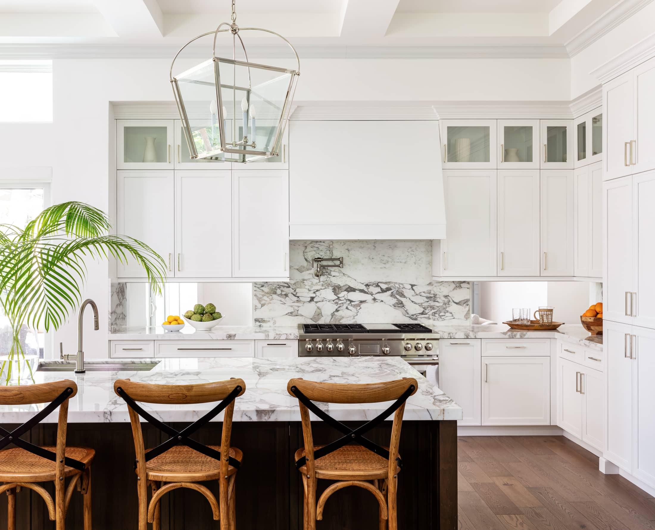 Calacatta Vagli Gold Kitchen 7, Primestones® Granite, Quartz, Marble