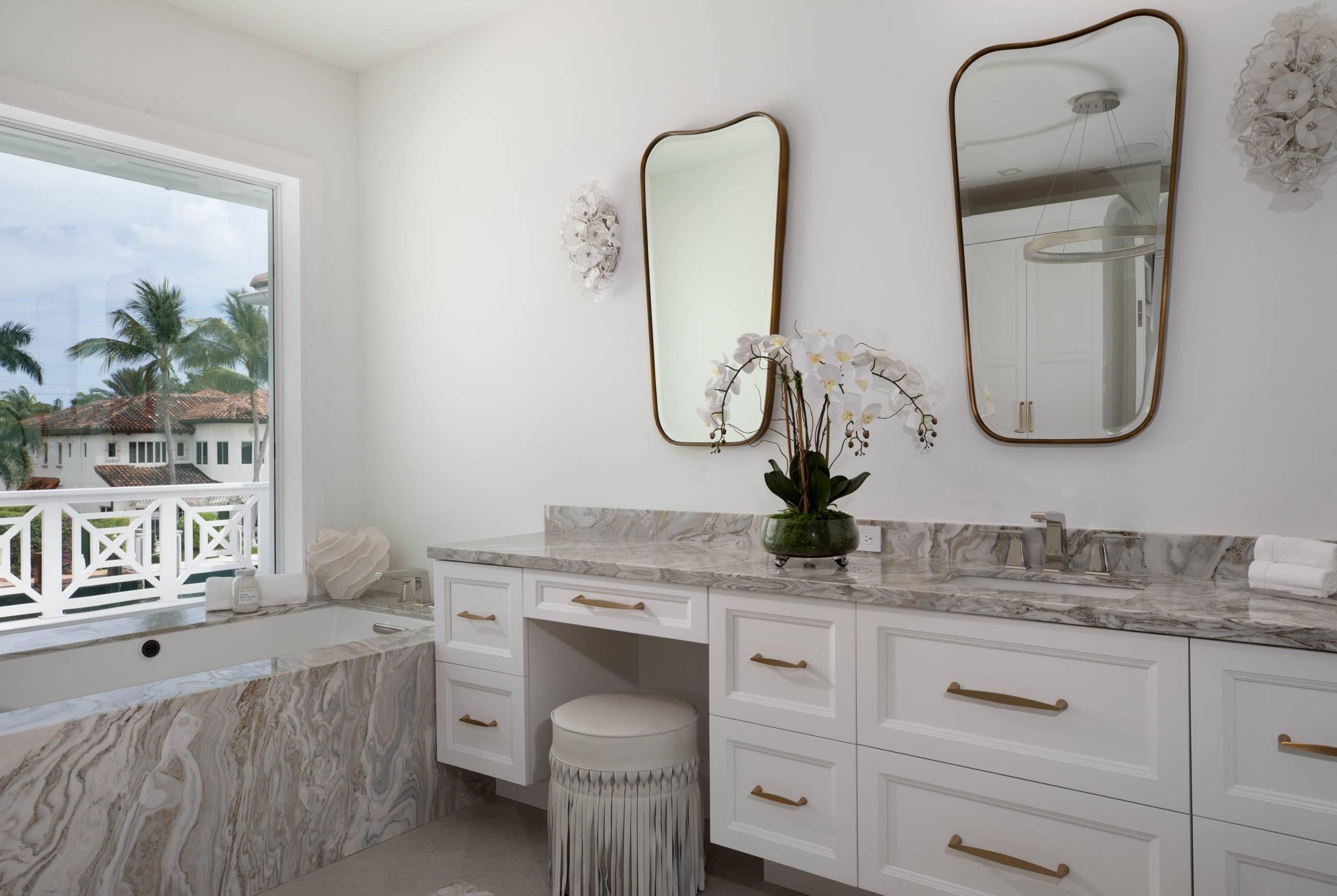 Avalanche Master Bathroom Scaled, Primestones® Granite, Quartz, Marble