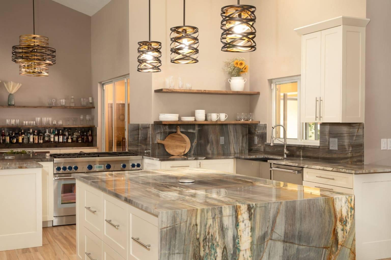 Turquoise Quartzite Kitchen 8 1536x1024, Primestones® Granite, Quartz, Marble